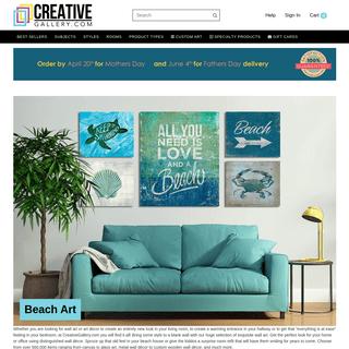 Wall Art Prints, Framed Art, Home Decor, Wall Art Ideas - Creative Gallery