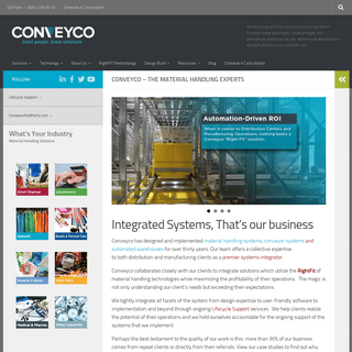 Conveyco - Material Handling Systems Integrator