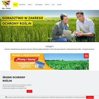 ★ Agro-Biznes ★ Nawozy ★ Środki ochrony roślin ★ Skup Rzepaku ★ Skup zbóż ★ Maszyny rolnicze ★ Materiał siewn