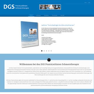 DGS-PraxisLeitlinien -- Home