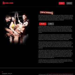 Public Disgrace - Public Slave Humiliation & Reality BDSM Porn
