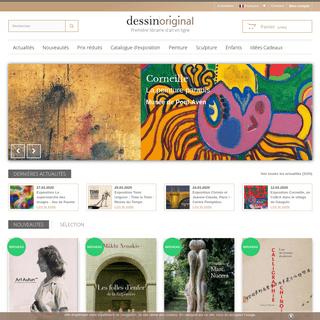 Livres d'art & catalogues d'expositions - DessinOriginal.com