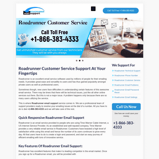 Roadrunner Email Support - +1-866-383-4333 Technical Help & Service