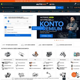 AUTODOC - części samochodowe- sklep internetowy zawierający ponad 2,5 miliona auto części