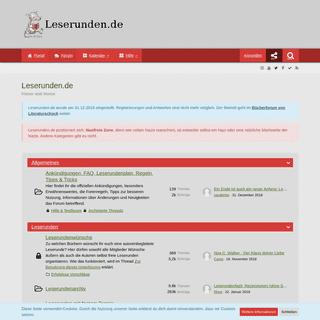 Leserunden.de