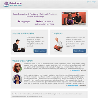 ArchiveBay.com - babelcube.com - Book Translation & Publishing - Authors & Translators