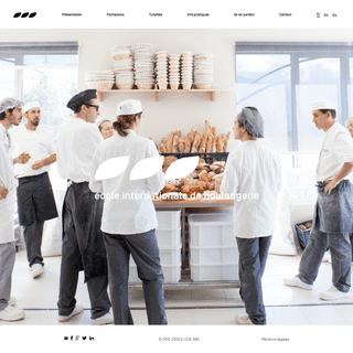 École internationale de boulangerie - Formation professionnelle - Accueil