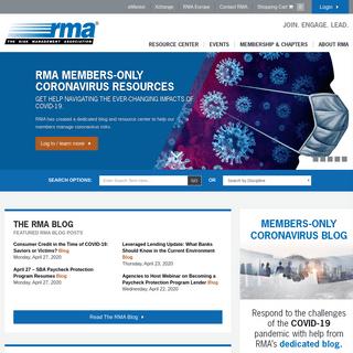 Enterprise Risk Management News, Events & Training - RMA