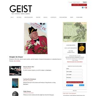 Geist- Fact + Fiction, North of America