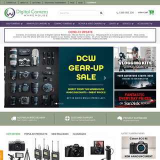 Digital Camera Warehouse - Sydney, Melbourne and Brisbane Camera Stores