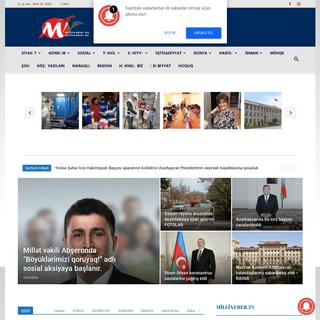 Millixəbər İnformasiya Portalı - Xəbər - Millixəbər İnformasiya Portalı