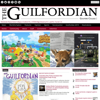 The Guilfordian – The student news site of Guilford College
