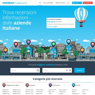 Overplace - L'elenco digitale delle Aziende Italiane