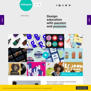 United States – Shillington Education – Graphic Design Course