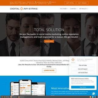 Digital Air Strike - Social Media Marketing & Reputation Mgmt Agency, Phoenix