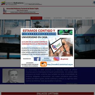 Universidad Politécnica Territorial del Estado Trujillo -Mario Briceño Iragorry-