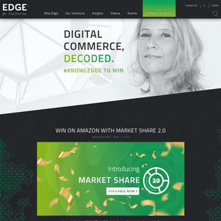 Edge by Ascential - All-In-One Ecommerce Solutions & Data Provider