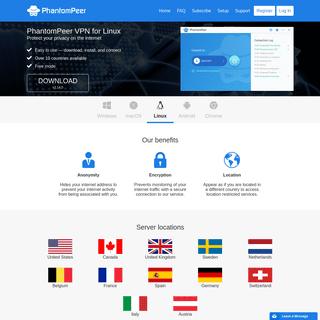 ArchiveBay.com - phantompeer.com - PhantomPeer VPN - Home