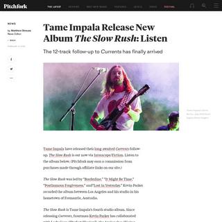 ArchiveBay.com - pitchfork.com/news/tame-impala-release-new-album-the-slow-rush-listen/ - Tame Impala Release New Album The Slow Rush- Listen - Pitchfork