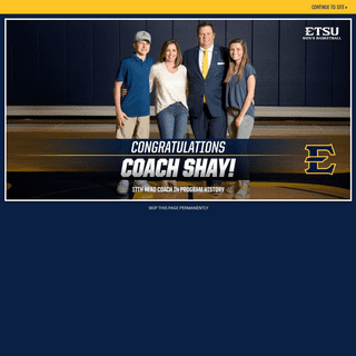 Official Site of East Tennessee State Athletics
