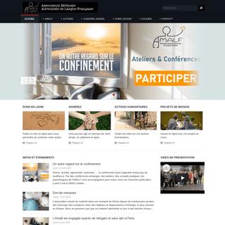 Association Médicale Adventiste de Langue Française - AMALF - Association Medicale Adventiste de Langue Française