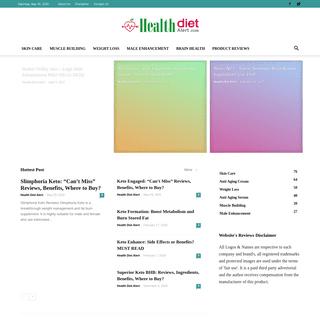 ArchiveBay.com - healthdietalert.com - HealthDietAlert.com – Health and Fitness Product Reviews
