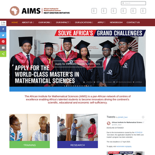 AIMS - Building Science in Africa