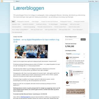 Lærerbloggen
