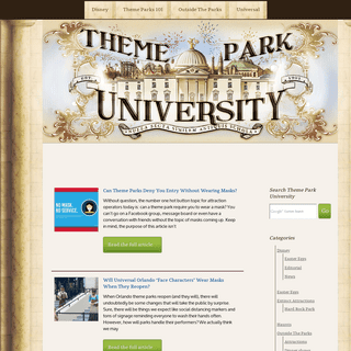 Theme Park University - Stories on Themed Entertainment