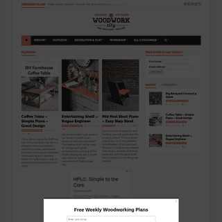 Woodwork City Free Woodworking Plans - Free Woodworking Plans