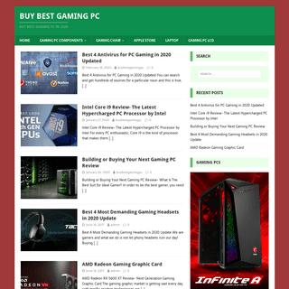Buy best gaming pc - Buy best gaming pc In 2020
