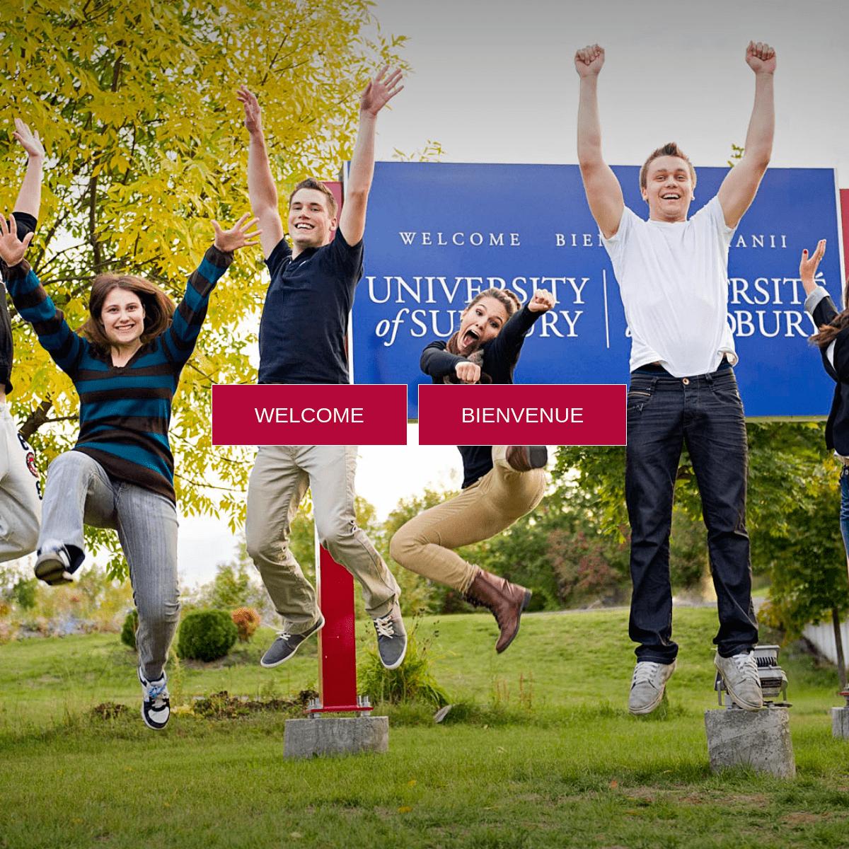 University of Sudbury - Université de Sudbury