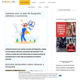 Cámaras, fotografía, cámaras aventura, objetivos en Camaras.UNO