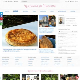 La cuisine de Mercotte -- Macarons, Verrines, … et chocolat – Recettes festives, recettes coup de coeur !