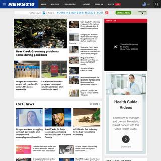 Medford News, Weather, Sports, Breaking News - KTVL