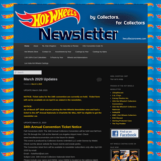 Hot Wheels Newsletter - Hot Wheels Diecast By Collectors