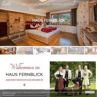 Ferienwohnung Mayrhofen, Mayrhofen Ferienwohnung - Haus Fernblick