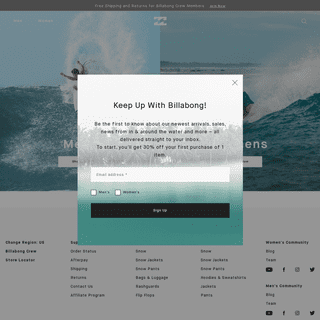 Billabong - Lifestyle & Technical Surf Clothing and Swimwear Brand