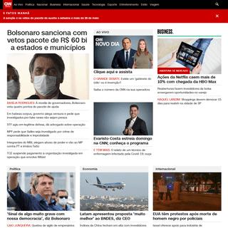 CNN Brasil - Notícias do Brasil e do mundo em tempo real