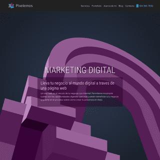 ArchiveBay.com - pixelemos.com - 🥇 Diseño páginas Web en Chihuahua & Marketing Digital - Pixelemos