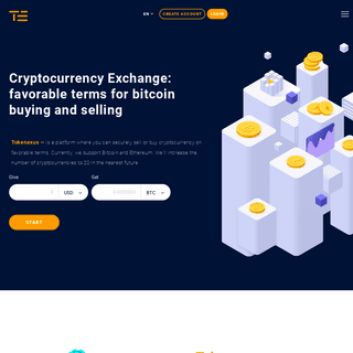 Buy & Sell Bitcoin, Ethereum, and more cryptocurrency online - Tokenexus