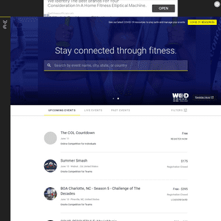 - Functional fitness competition management platform - Powered by Competition Corner ®- Official Site