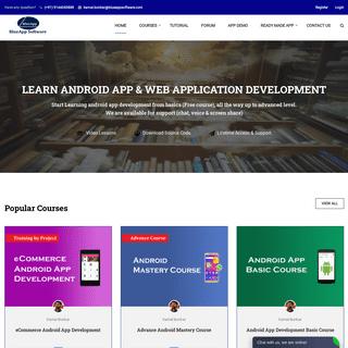 Best Android App Development Tutorial BlueAppSoftware