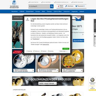 Münzen und Euromünzen online kaufen - Münzkontor