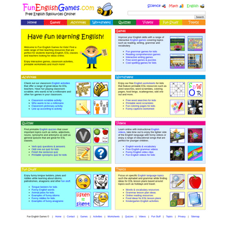 ArchiveBay.com - funenglishgames.com - Fun English Games for Kids - Free Teaching Resources Online