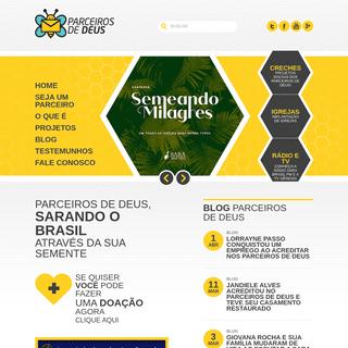 Parceiros de Deus - Sarando o Brasil através da sua semente