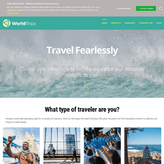 Travel the World with Confidence - WorldTrips