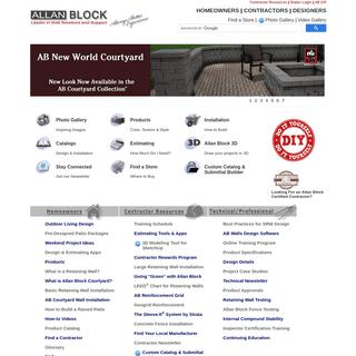 Retaining Walls - Allan Block Wall Systems