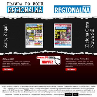 """""""Gazeta Regionalna"""" z powiatów Żary, Żagań, Nowa Sól, Zielona Góra"""