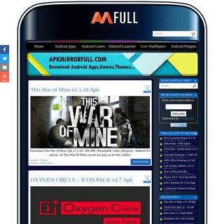 APKMirror Full - Free Download Latest MOD APK Apps, Games